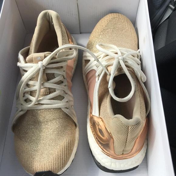 c1d5297117a Adidas by Stella McCartney Shoes - Adidas x Stella McCartney gold ultra  boost 8